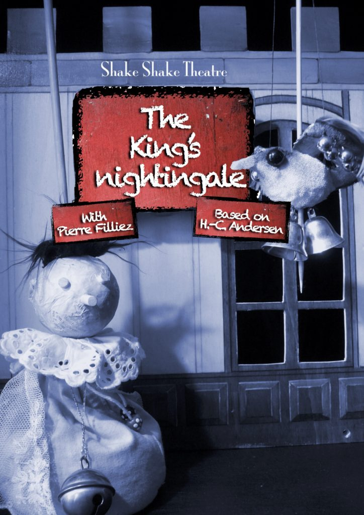 The king's nightingale poster puppet show